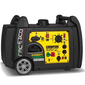 Champion Dual Fuel RV-Ready Portable Inverter Generator