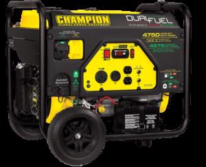 Champion 3800-Watt Dual Fuel – Easy to use