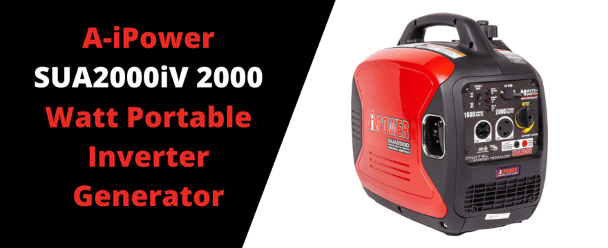 A-iPower SUA2000iV 2000 Watt Portable Inverter Generator